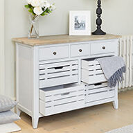 Grey Wood Sideboard - Signature