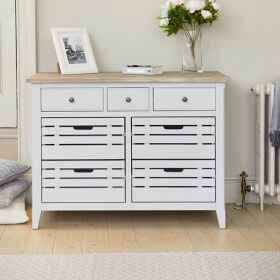 Grey Wood Sideboard - Signature