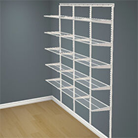 Elfa Shelving Starter Kit 4