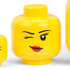 Giant LEGO Winky Storage Head - Small