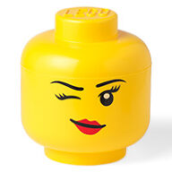 Giant LEGO Winky Storage Head - Large