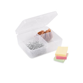 4 Compartment Plastic Divider Box