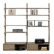 Oak Gyan Storage Double Unit - 2