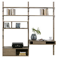 Oak Gyan Storage Double Unit