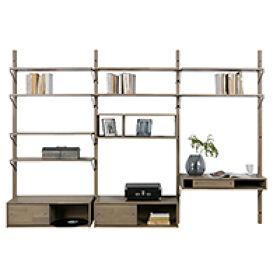 Oak Gyan Storage Triple Unit