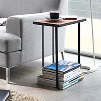 Magazine Rack Side Table