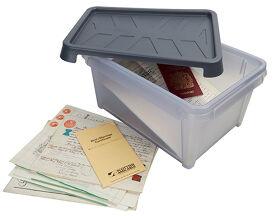 VIP Documents Storage Box Waterproof - 12 Ltr