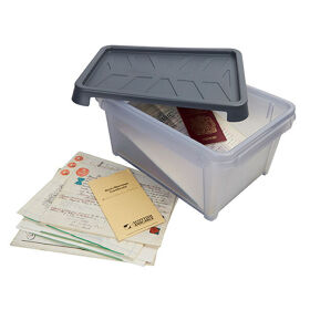VIP Documents Storage Box Waterproof - 12 Ltr