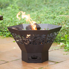 Laser Cut Fire Bowl