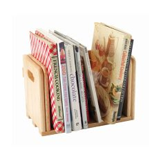 Expanding Wooden CookBook Holder