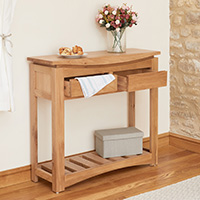 Oak Console Table - Roscoe