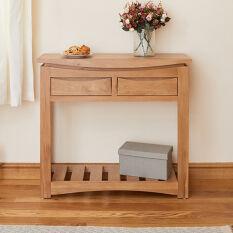 Oak Console Table - Roscoe