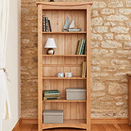 Large Oak Bookcase - Roscoe