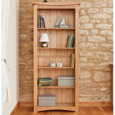 Large Oak Bookcase - Roscoe