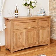 Large Oak Sideboard - Roscoe