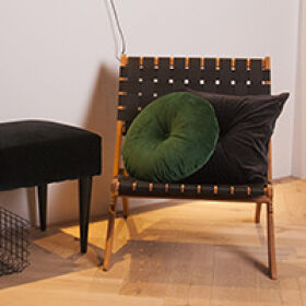Foldable Weave Wooden Chair