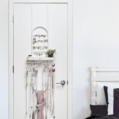 Valerina Over The Door Jewellery Organiser