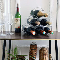 Hexagon 6 Bottle Wine Rack