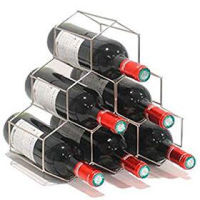 Hexagon 6 Bottle Wine Rack