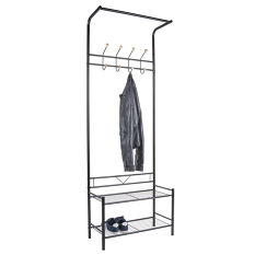 Hallway Coat Stand & Shoe Bench