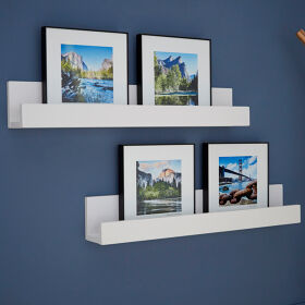 2 x Picture Ledge Shelves