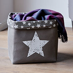 Canvas Storage Bag - Star