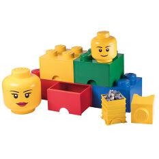 Giant LEGO Storage Drawers - Classic Drawer & Head Bundle