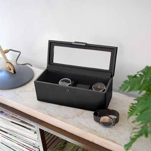 Stackers Lidded Watch Storage Box