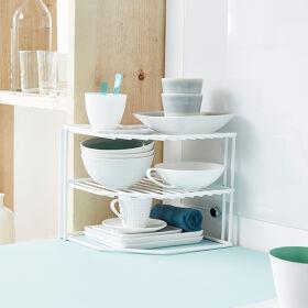 Corner Storage Organiser Shelf