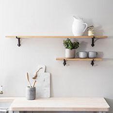 Cast Iron Bracket Shelf - Large