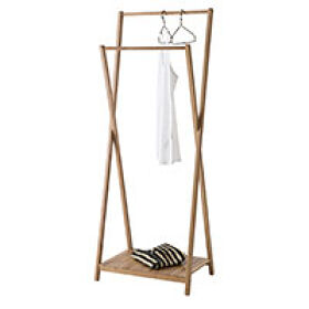 Malmo Double Clothes Rail - Bamboo