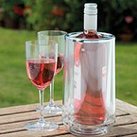 Double Walled Acrylic Wine Cooler