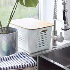 SmartStore Basket with Lid - Deep