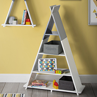 Teepee Freestanding Shelving Unit