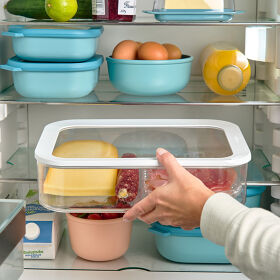 Clear Kitchen Storage Canister - 4800ml