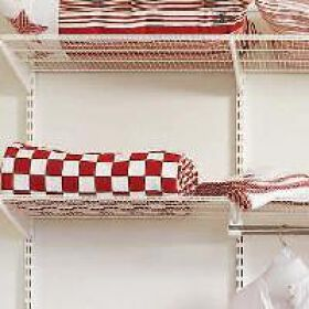 Elfa Ventilated Shelf - 90cm x 40cm