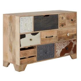 12 Drawer Mango Wood Sideboard - Marwar