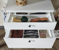 Elfa Decor Drawer Front and Gliding Frame - Shallow