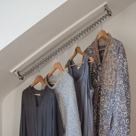 Any Angle Clothes Hanging Rail - Zebedee 70cm