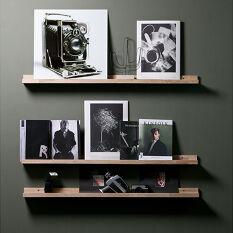 1 x Studio Display Shelf - Solid Oak