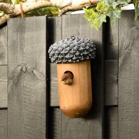 Acorn Bird House - Wren