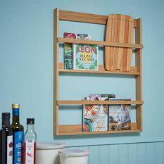 Book Display Shelf - Oak