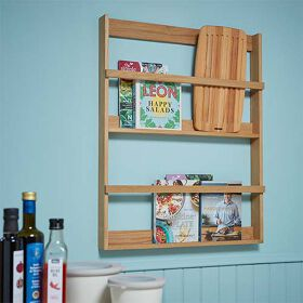 Book Display Shelf - Oak