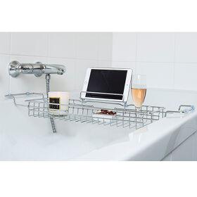 Extendable Bath Caddy - Chrome