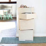 Rotating Storage Carousel - 4 Boxes