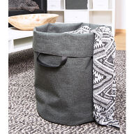 Soft Storage Laundry Bag - Grey
