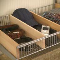 Elfa Decor Basket Shelf Divider - 40cm