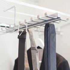 Elfa Gliding Tie and Belt Rack