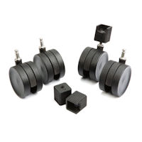 Elfa Castors for Drawer Towers