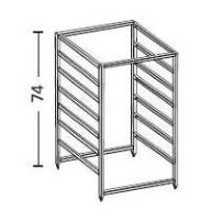 Elfa 7 Runner Drawer Frame - 54cm Deep